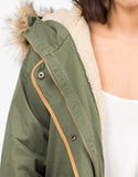 Detail of Hooded Parka