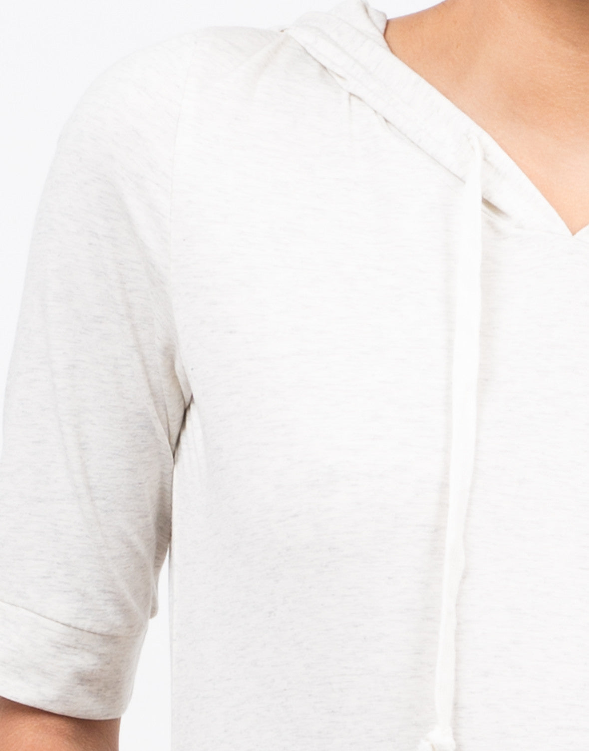 Detail of Hooded Tee Dress