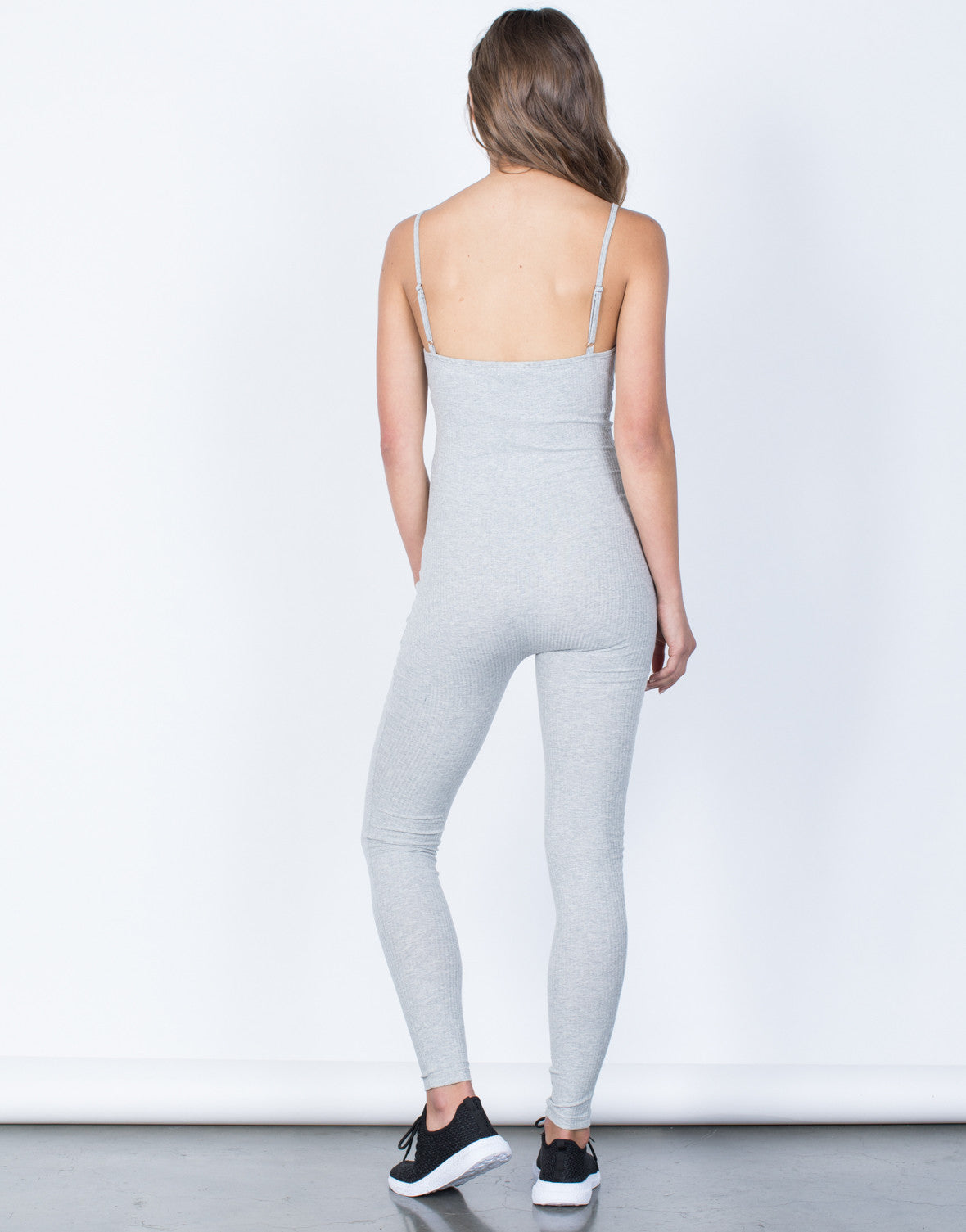 Back View of Hooked to You Jumpsuit