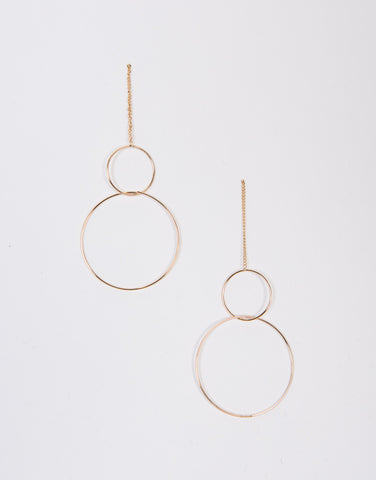 Hoop Together Earrings