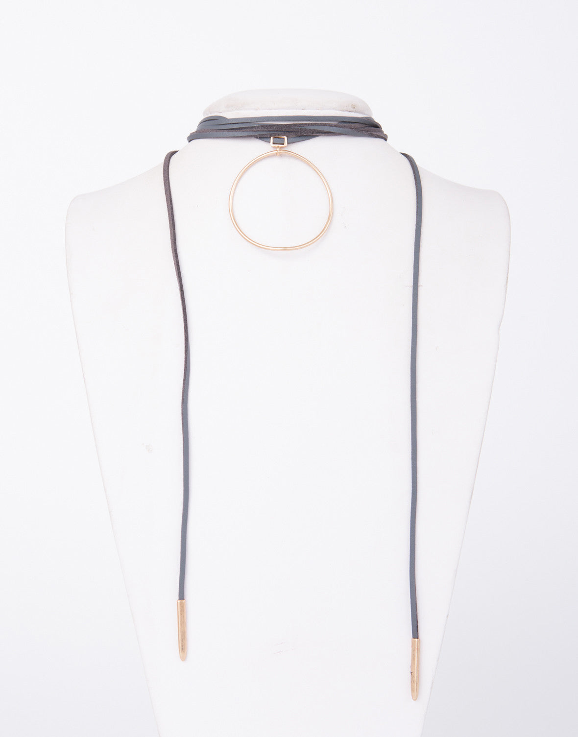 In the Loop Wrapped Necklace - 2020AVE