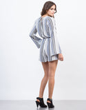 Back View of In-Between The Lines Romper