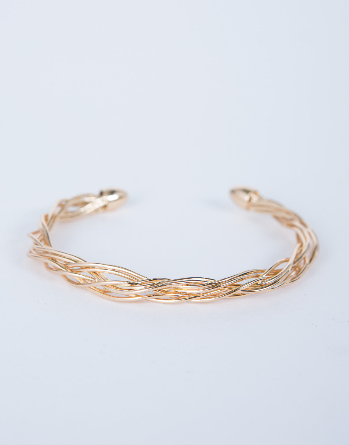 Intertwined Cuff Bracelet
