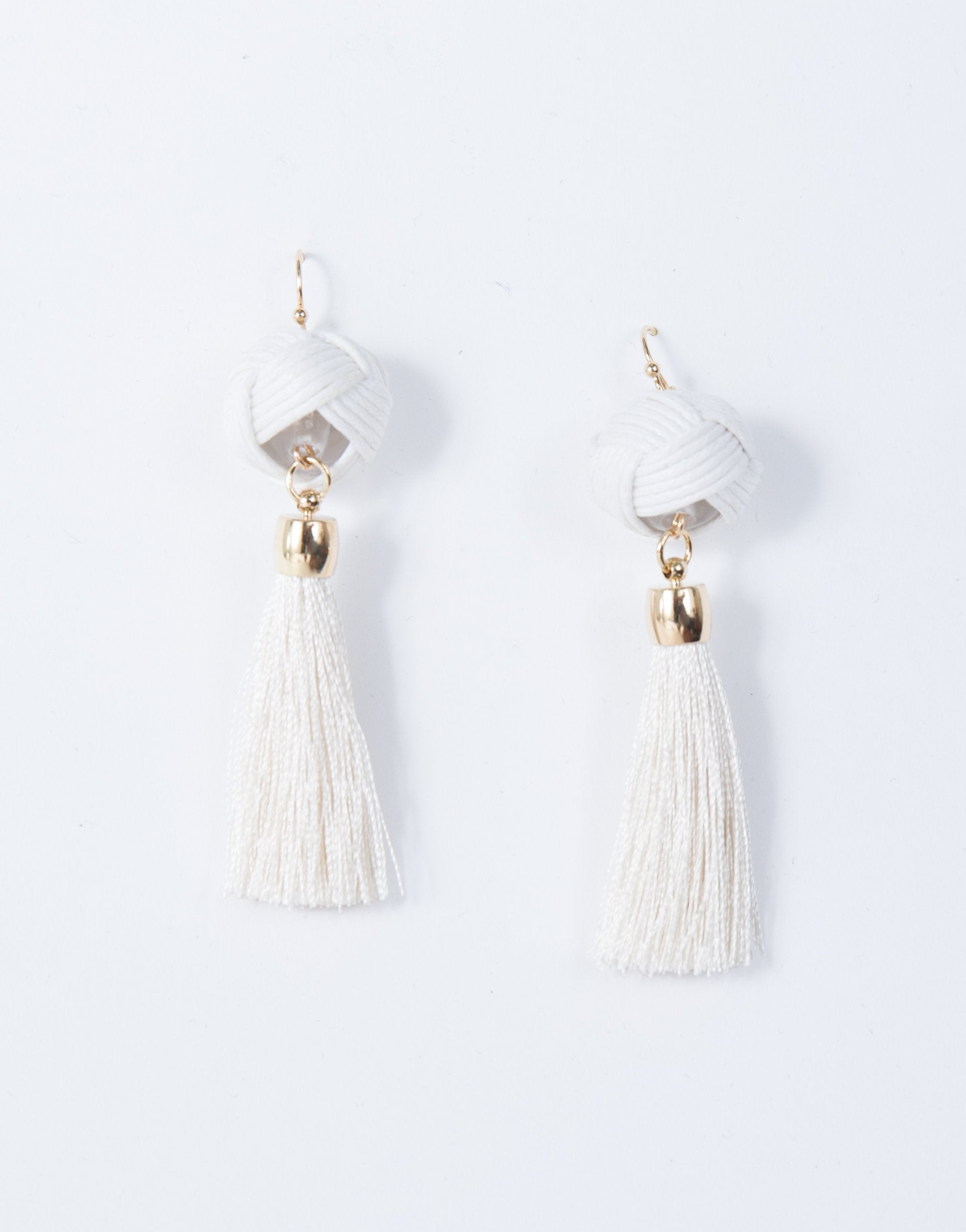 Intertwined Tassel Earrings - 2020AVE
