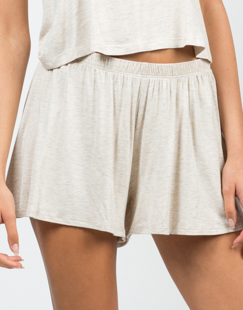 Detail of Jersey Lounge Shorts