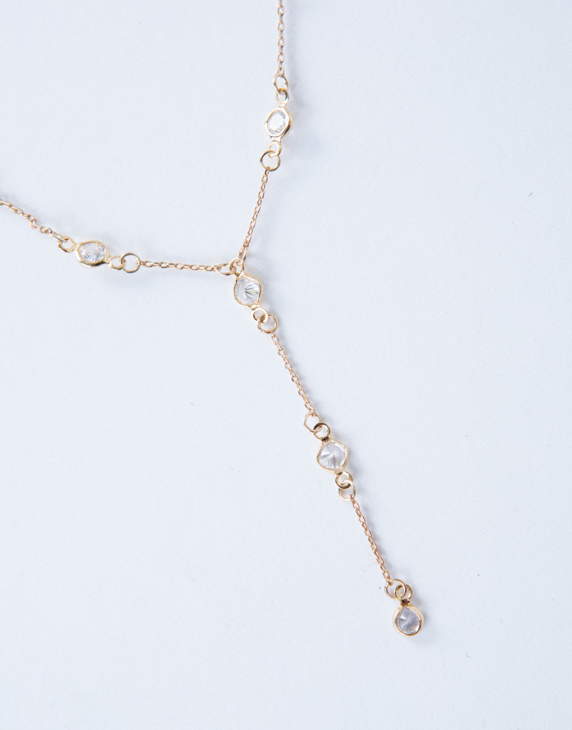 Jeweled Drop Choker
