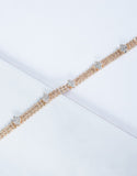 Gold Jeweled Glow Choker - Detail