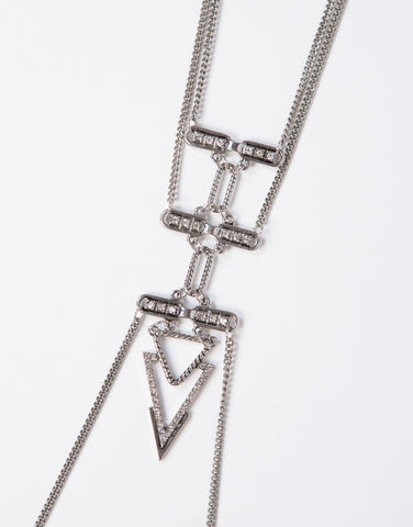 Jeweled Tribal Body Chain
