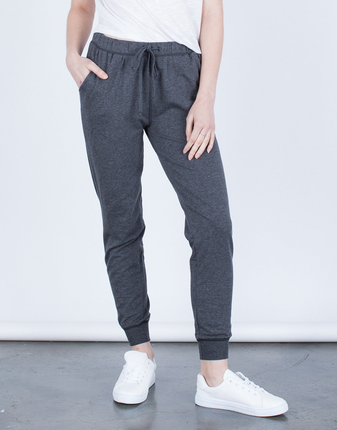 Front View of Keep Me Comfy Joggers