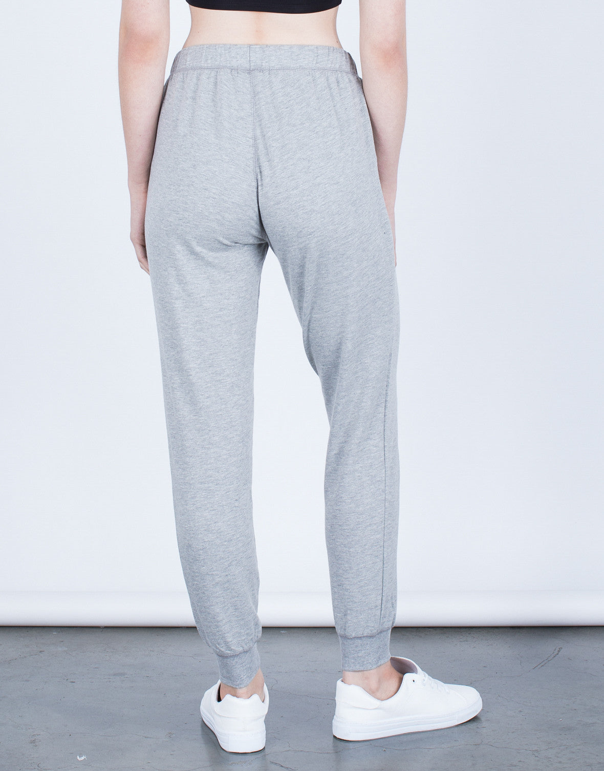 Back View of Keep Me Comfy Joggers