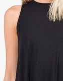 Detail of Keyhole Tank Dress