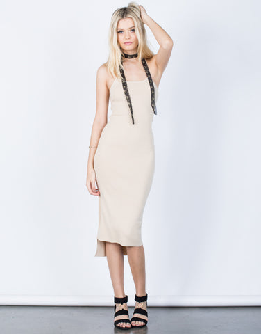 Front View of Kimberly Knit Dress