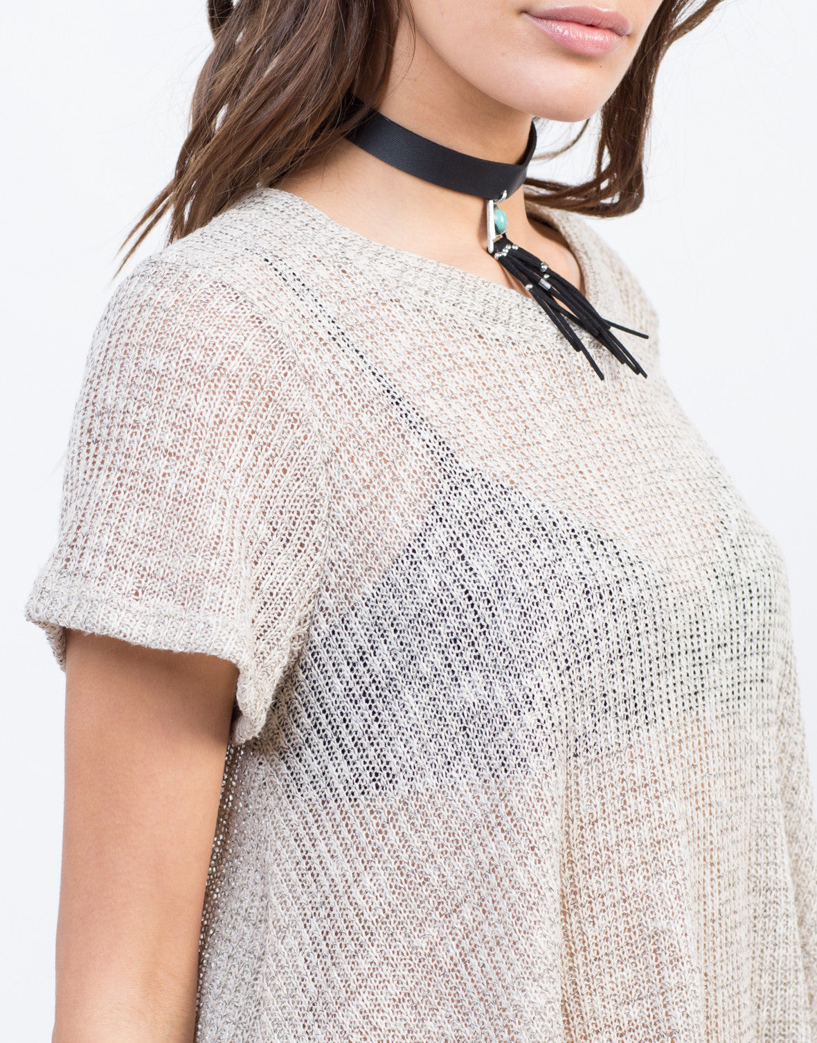 Knit Sweater Top - 2020AVE