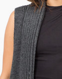 Detail of Knit Sweater Vest