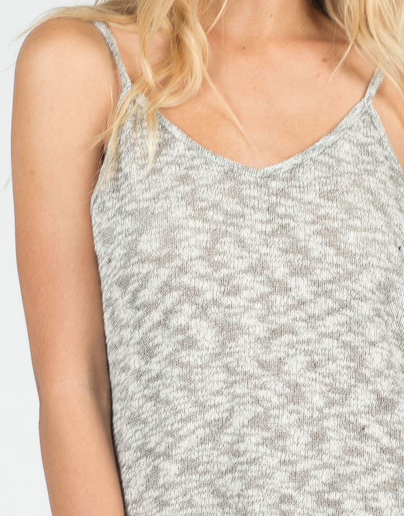 Knitted Cami Tank - 2020AVE