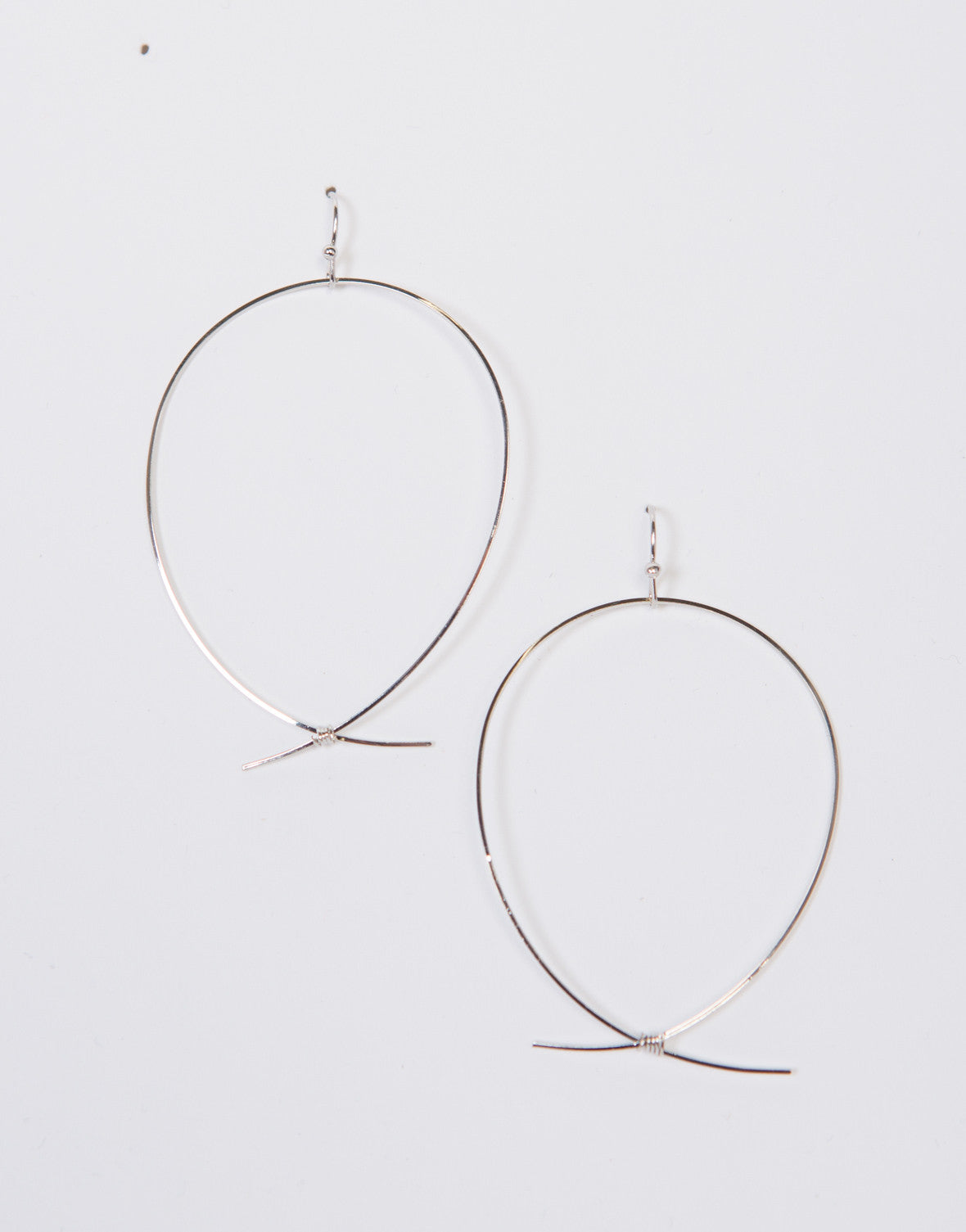 Knot It Hoop Earrings