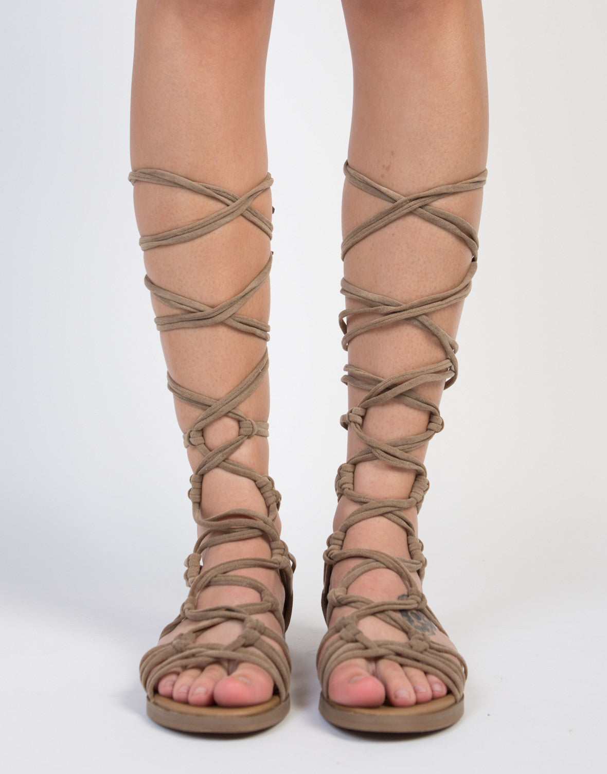 Knot It Up Gladiator Sandals