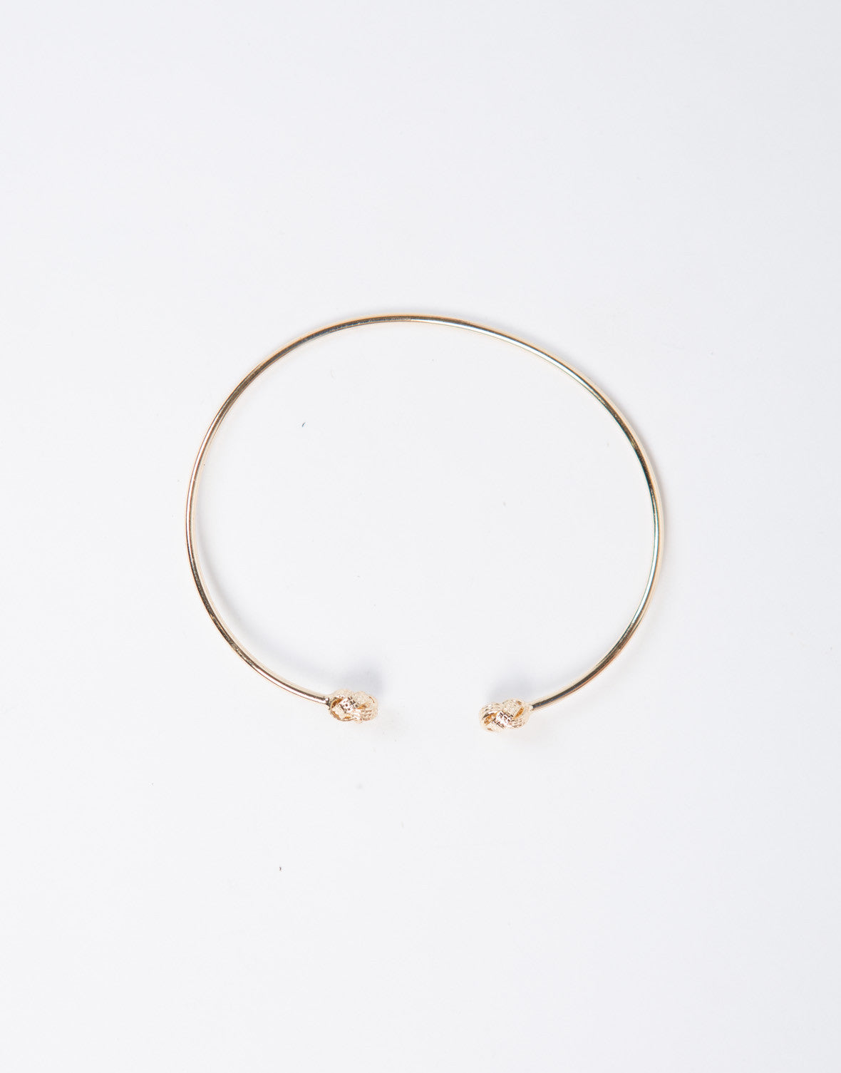 Knotted Thin Cuff