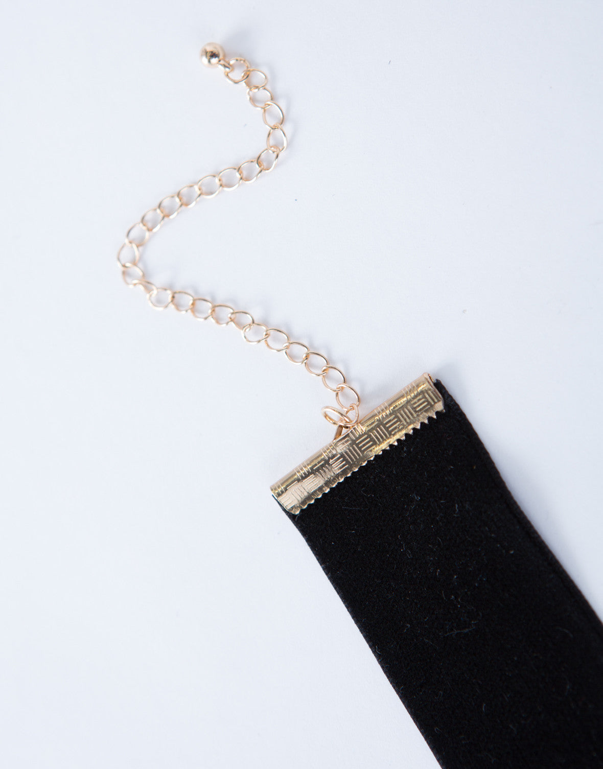 Lace-Up Chain Choker