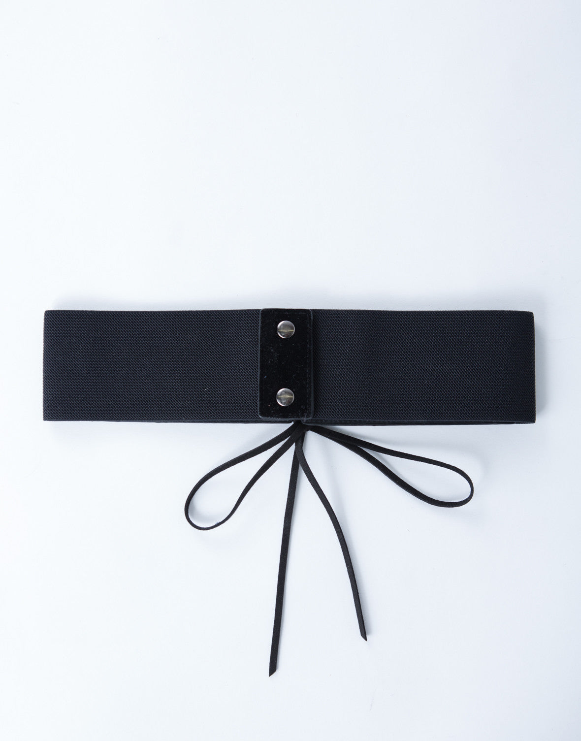 Lace-Up Waist Belt