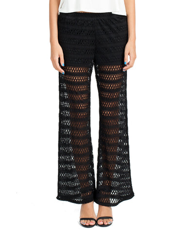 Laced Flared Pants