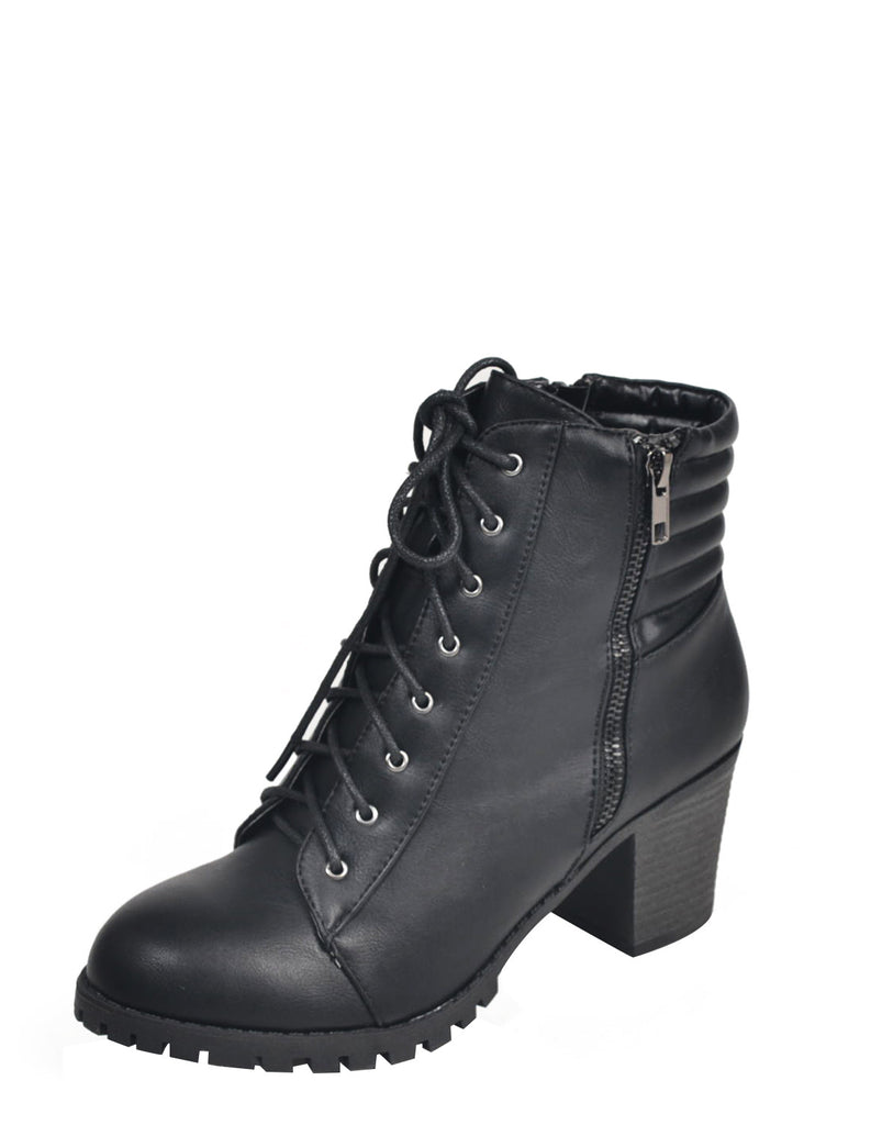 Laced Up Ankle Booties - 2020AVE