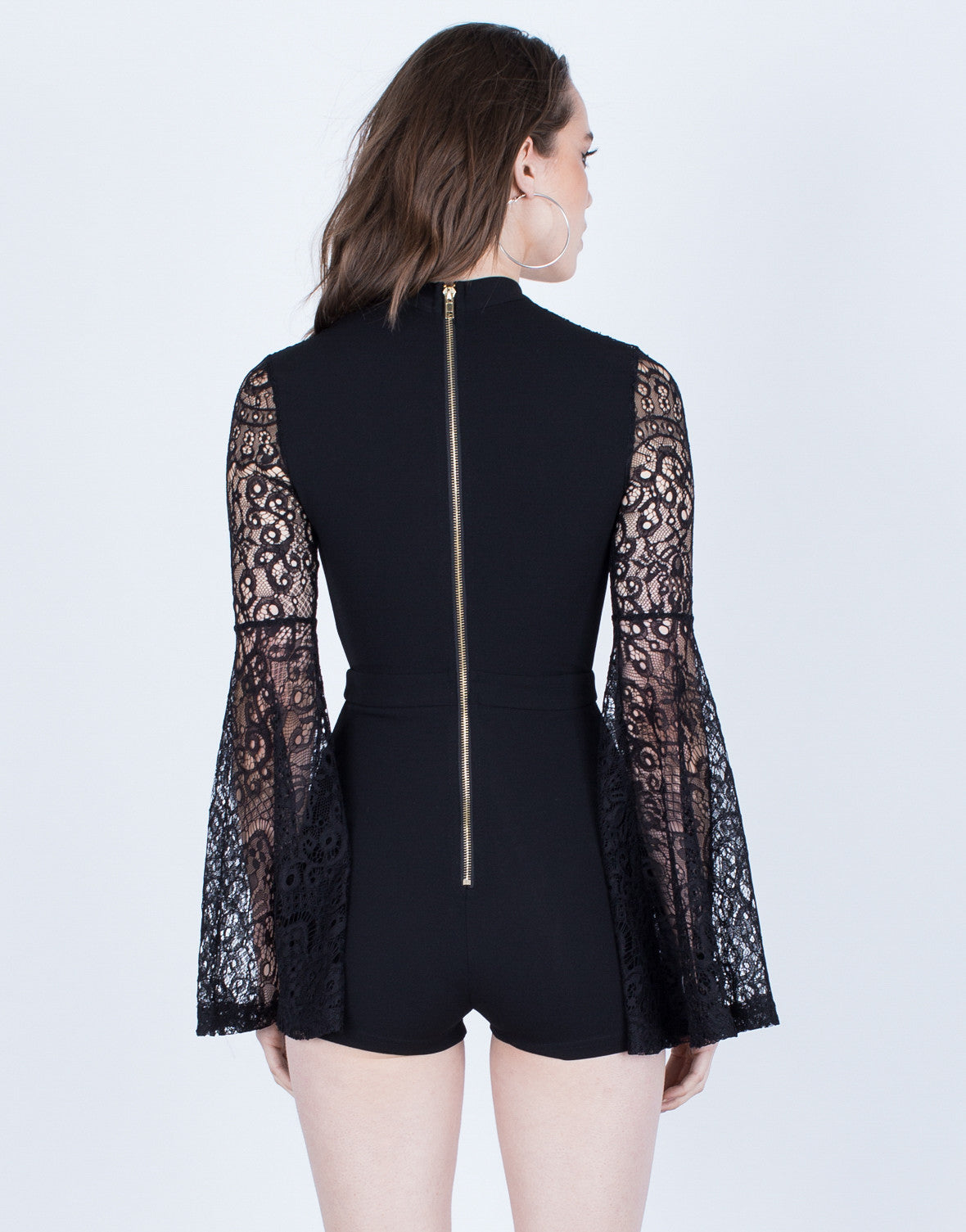 Lacey Bell Sleeve Romper