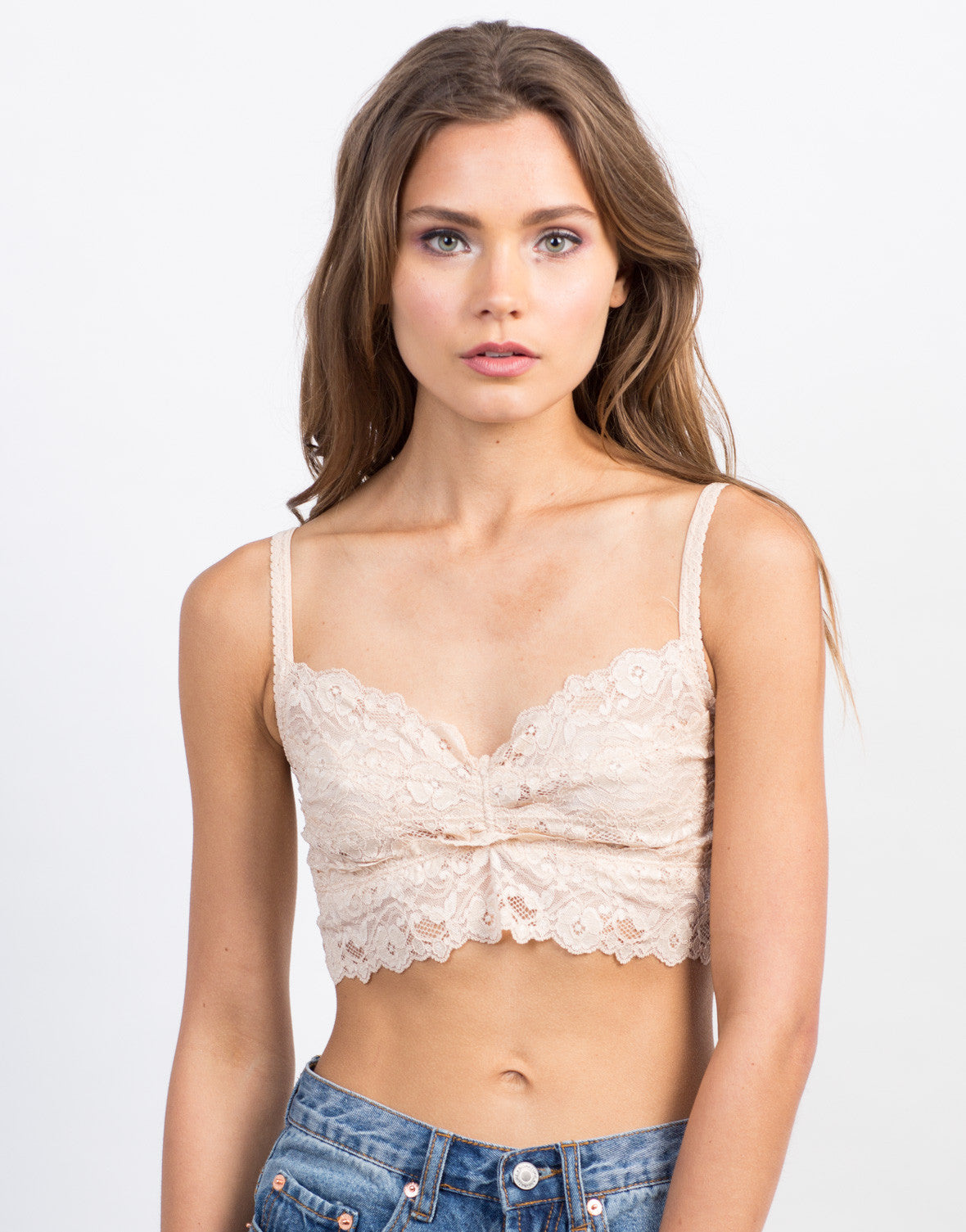 Lacey Floral Bralette