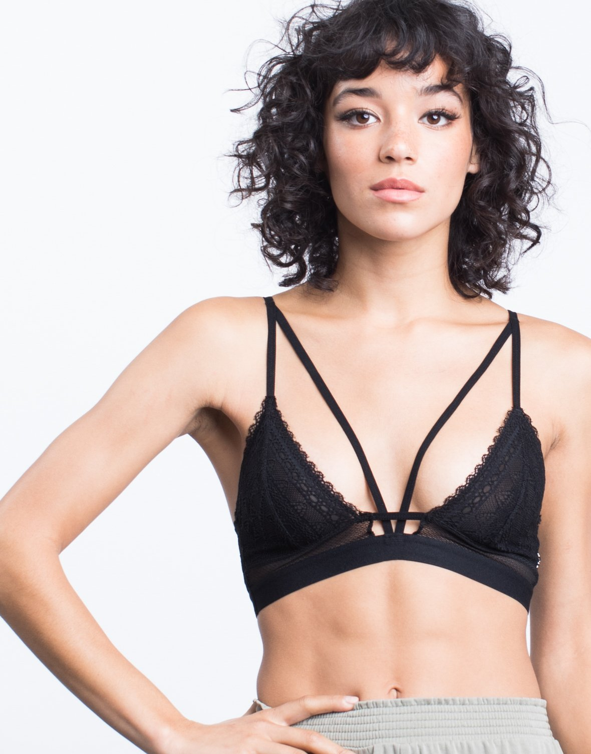 Lacey Sheer Bralette - 2020AVE