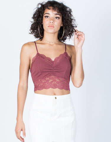 Lacey Thrills Crop Top