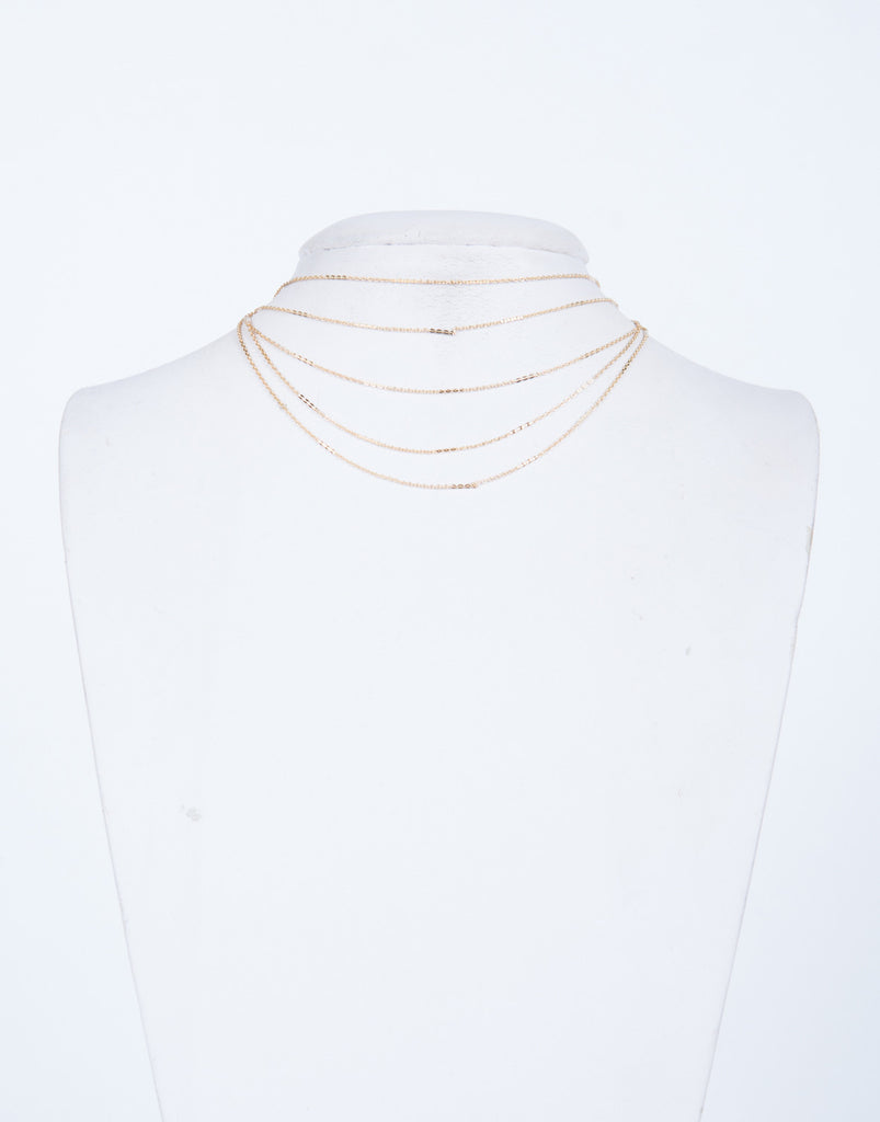 Layer Around Me Chain Choker
