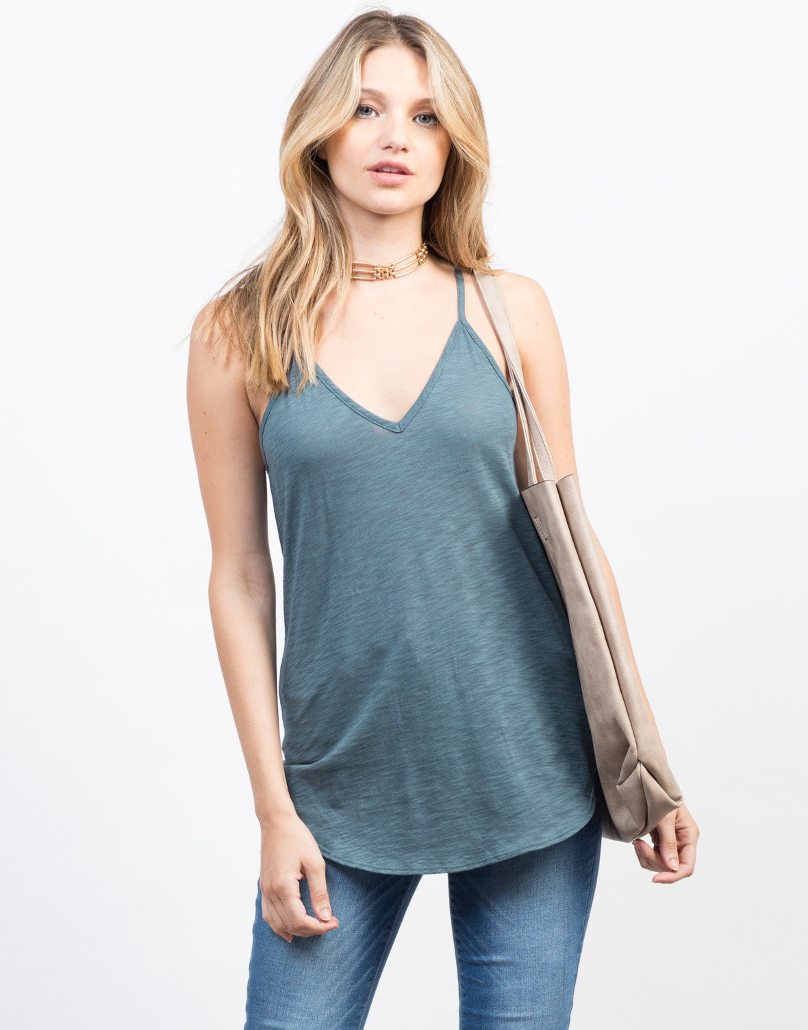 Layer It On Me Tank - 2020AVE