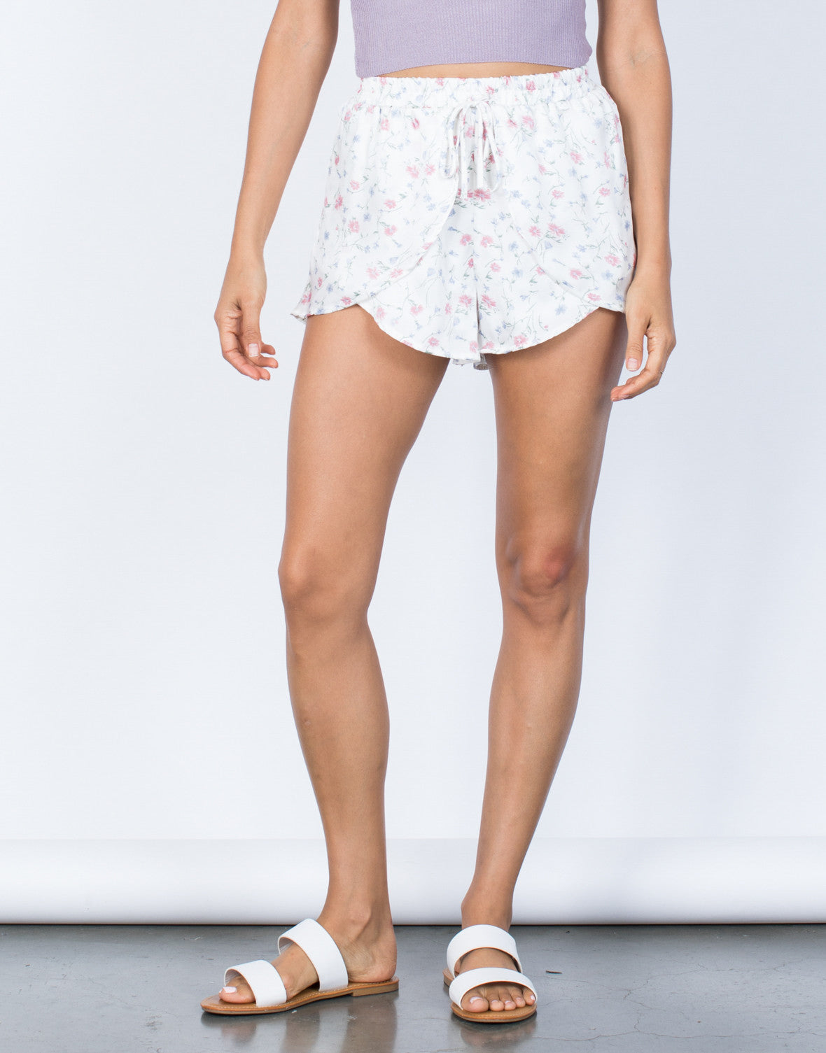 Layer Me Satin Shorts - 2020AVE