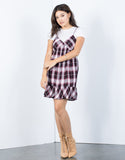Layer Up Plaid Dress - 2020AVE