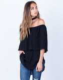 Layered Off-the-Shoulder Top - 2020AVE