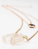Layered Crystal Jewel Necklace