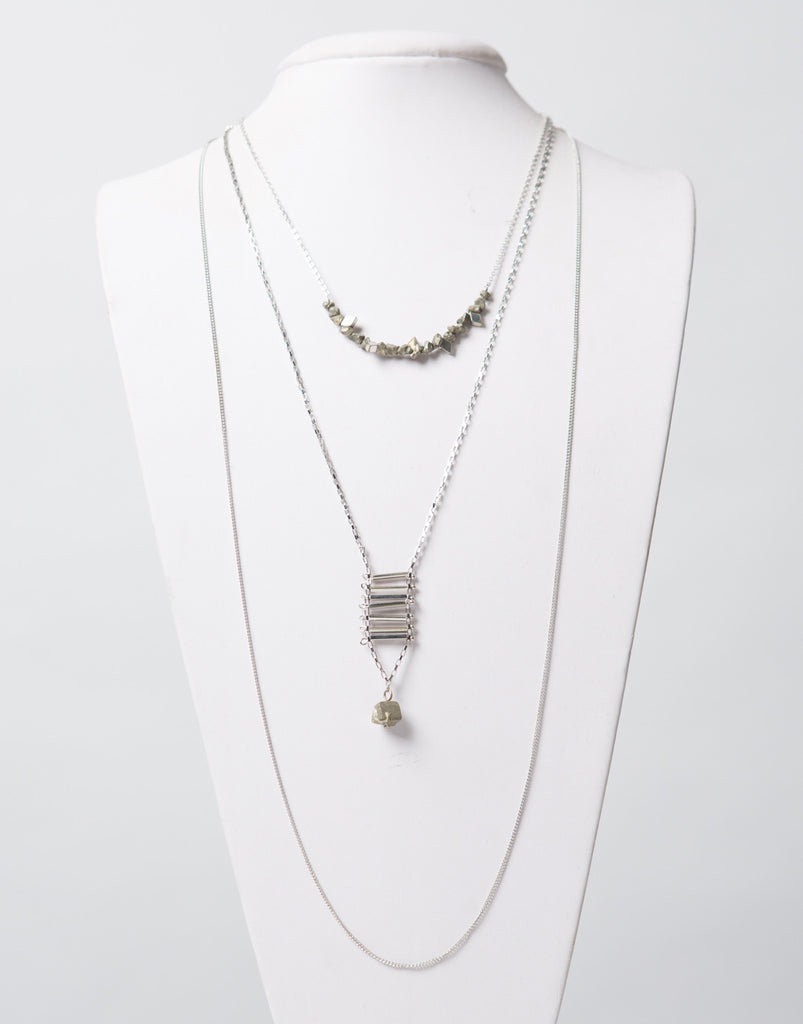 Layered Stone Necklace - 2020AVE