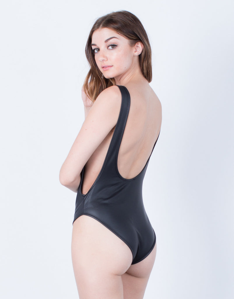 Leather Bodysuit - 2020AVE