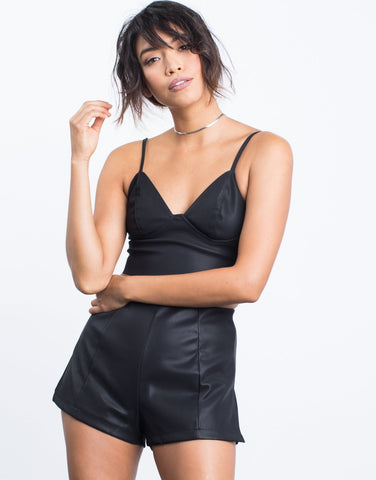 Leather Nights Crop Top - 2020AVE