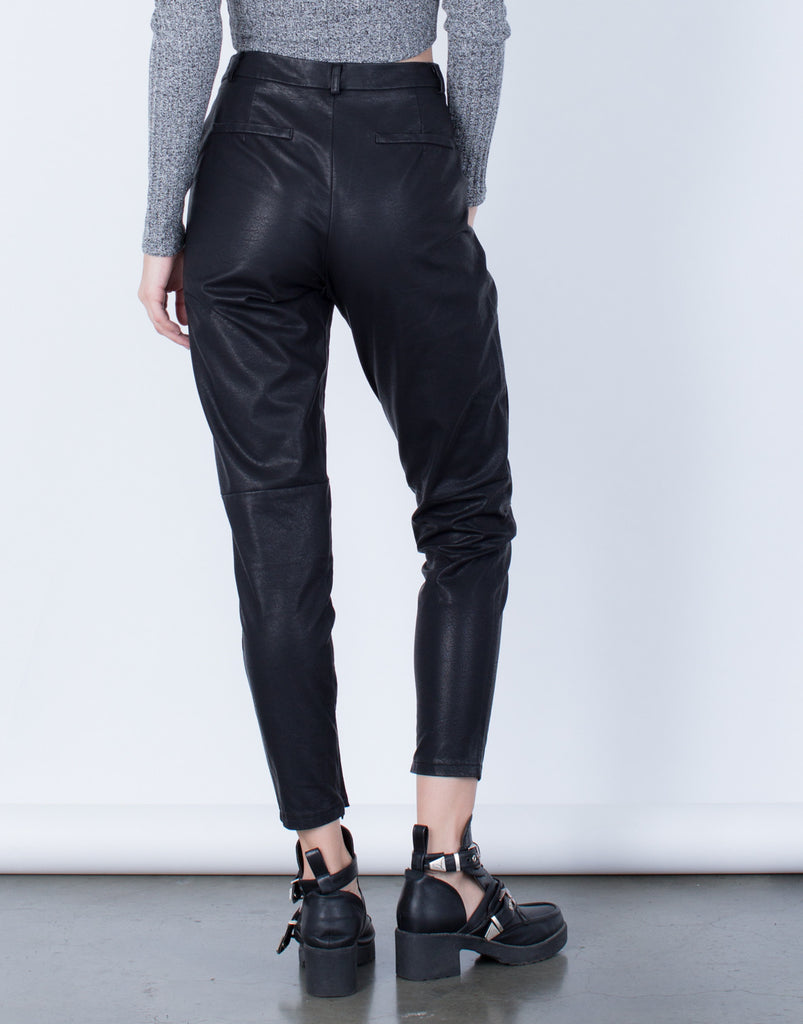 Leather Trouser Pants - 2020AVE