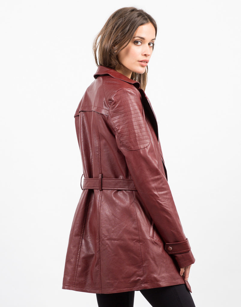 Leather Moto Jacket - 2020AVE