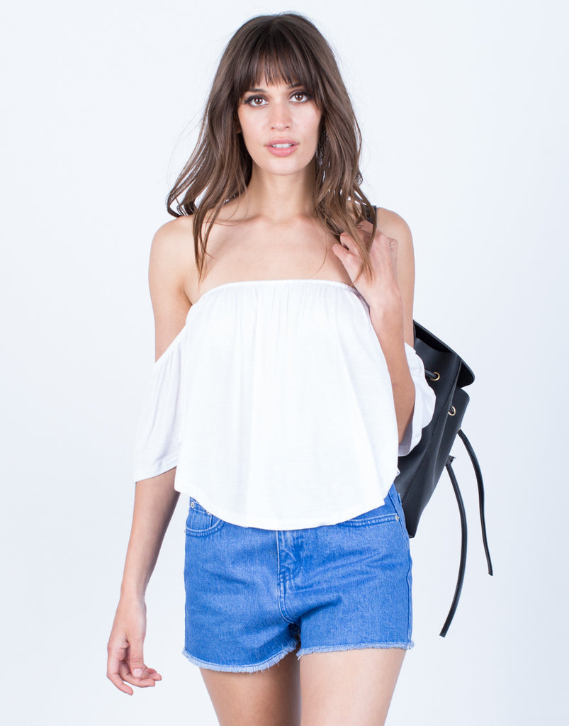 Front View of Let Loose Top