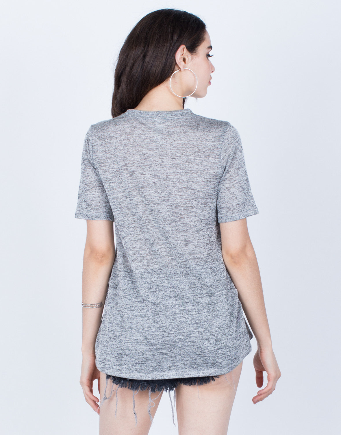 Lightweight Heathered Tee - 2020AVE