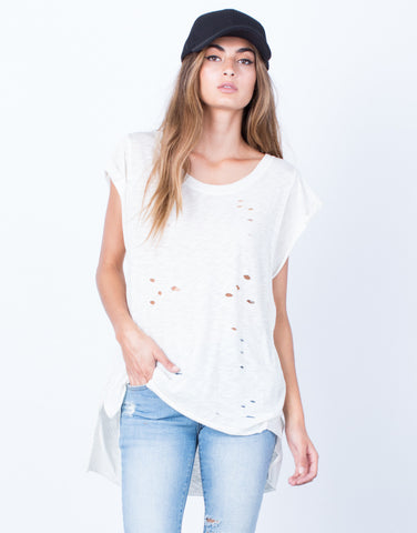 Lightweight Holey Tee - 2020AVE