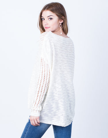 Lightweight Knit Sweater Top - 2020AVE