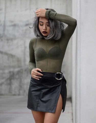 Lightweight Sweater Bodysuit