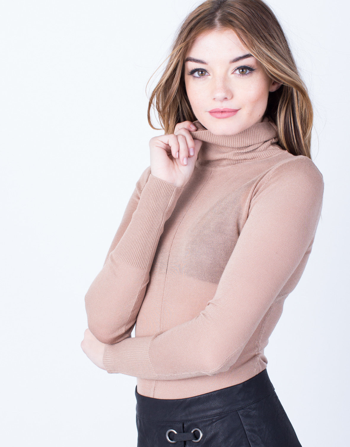 Detail of Lightweight Sweater Bodysuit