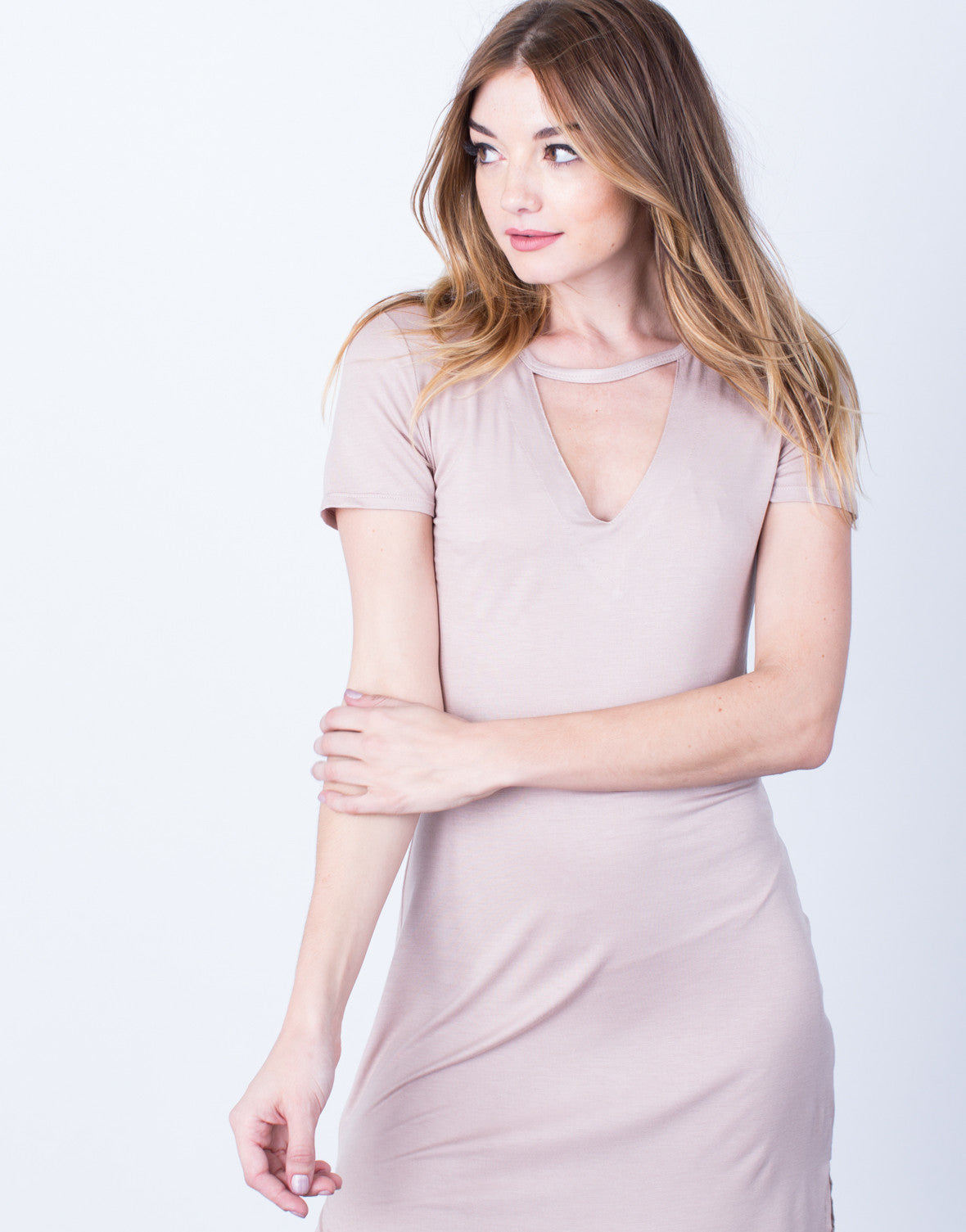 Lightweight Tee Dress