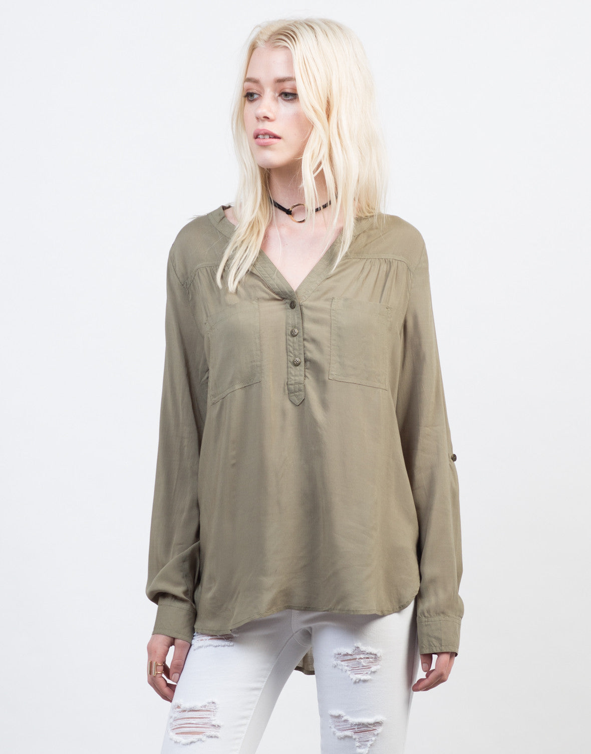 Lightweight Triple Buttoned Shirt - 2020AVE