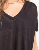 Detail of Lightweight Boxy Tee
